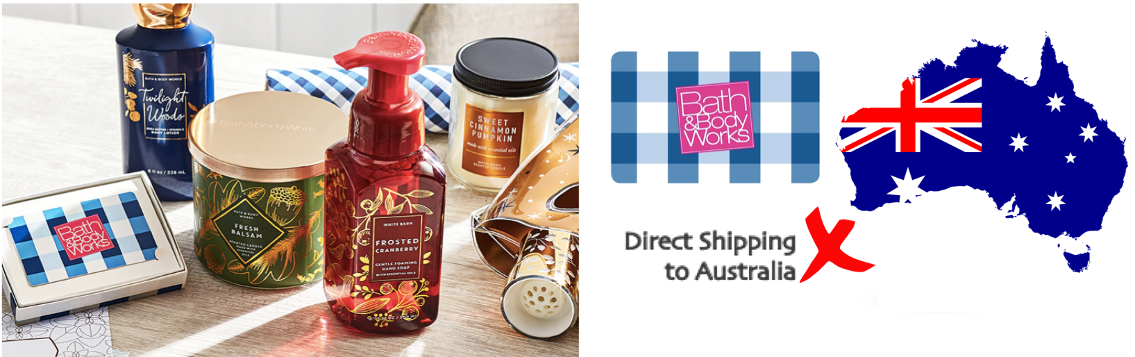 shop Bath & Body Works ship to Australia