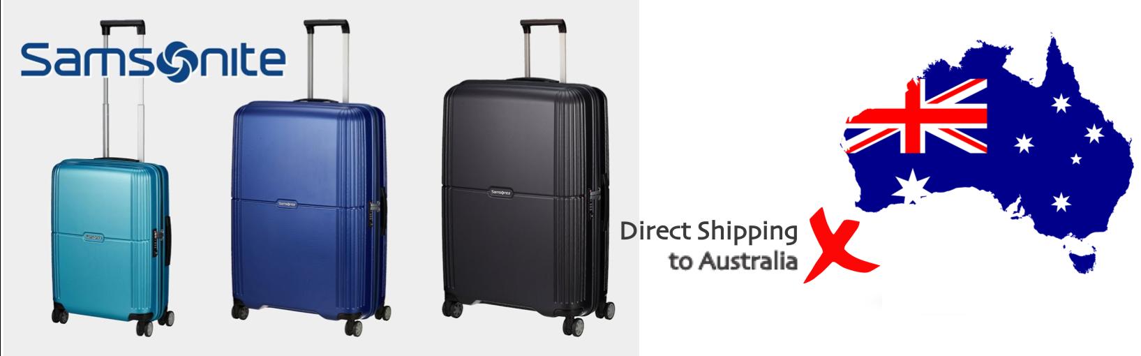 shop Samsonite ship to Australia