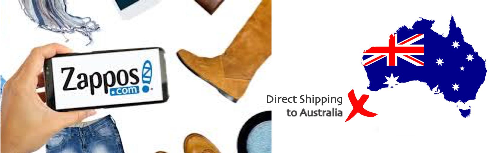 shop Zappos ship to Australia