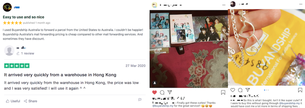 buyandship Malaysia reviews