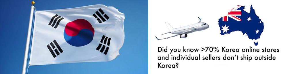 shop korea ship to Australia