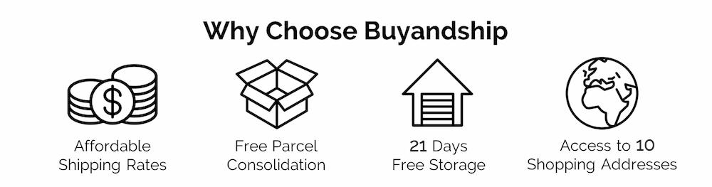 buyandship advantages