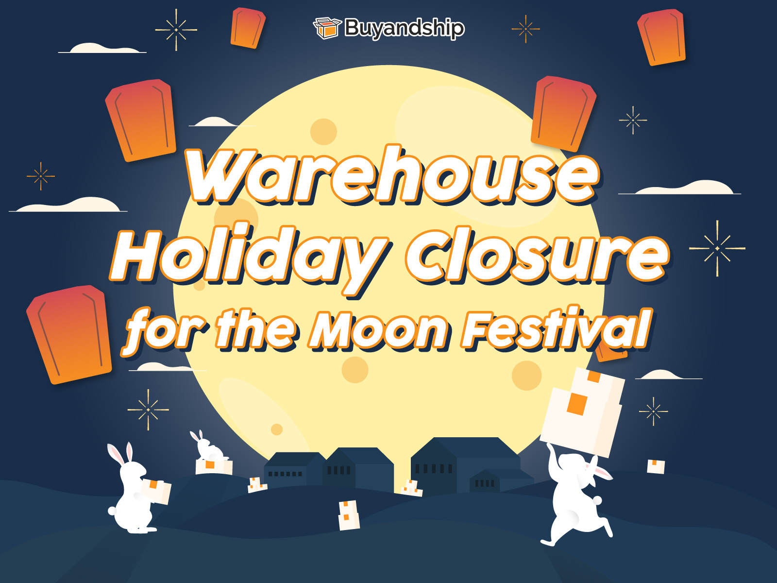 Warehouse Holiday Closure for the Mid-Autumn Festival