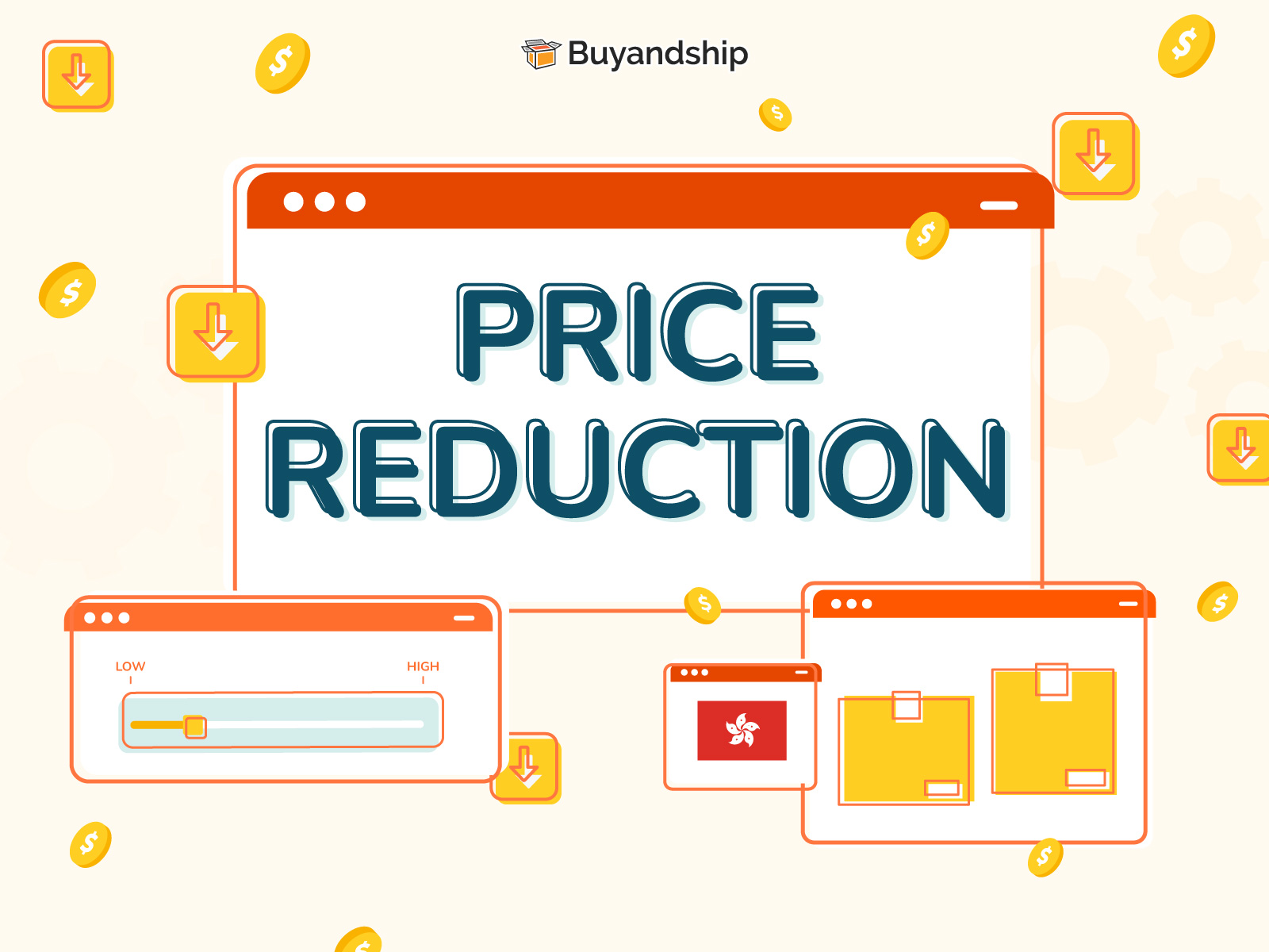 Price Reduction on shipments from Hong Kong